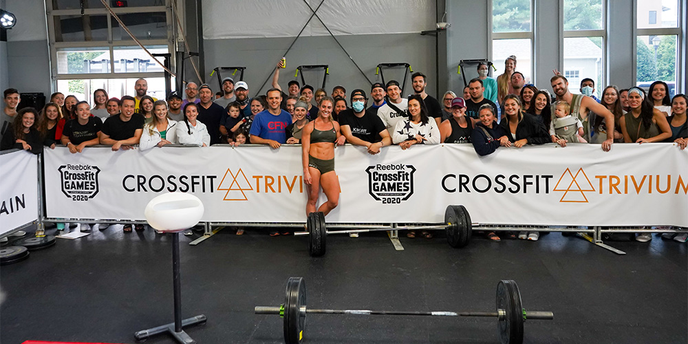 CrossFit Trivium Welcomes Brooke Wells, Games, Into Its Community