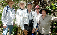 Group in bushland