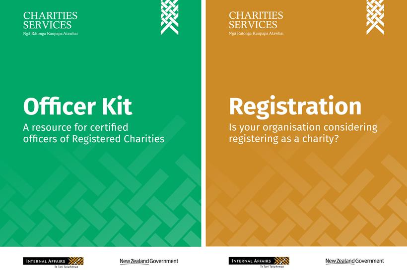 Thumbnail images of the Officer Kit and Registration booklet