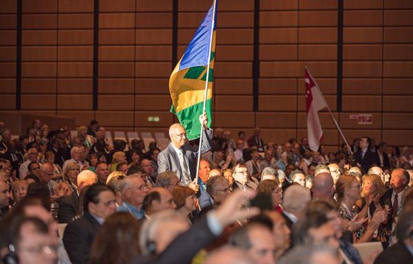World Council of Credit Unions (WOCCU) annual conference in Vienna