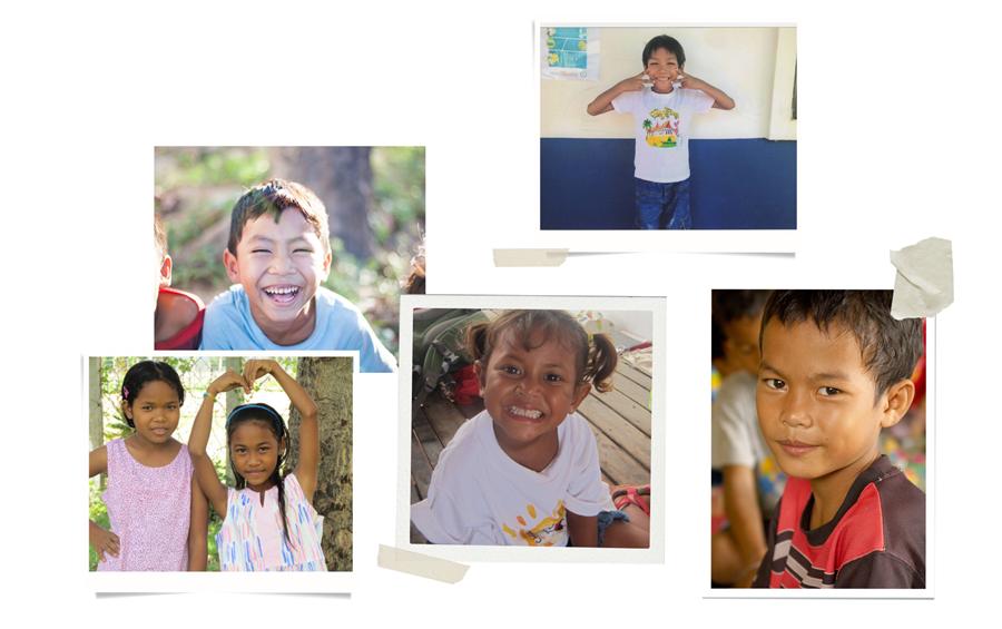 Children at Sunshine House