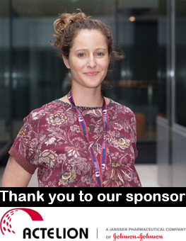 Dr Leah Wright | Senior Echocardiographer | Thank you to our sponsor Actelion