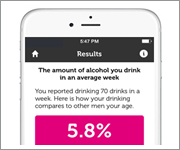 Image from the app Alcooquizz