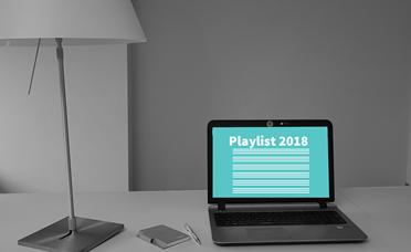 De playlist 2018 is beschikbaar in je online portal