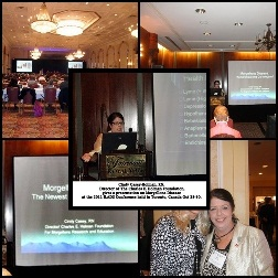 Cindy Casey-Holman, RN Dir. of The Charles E. Holman Foundation Gives a presentation on Morgellons Disease at the 2011 ILADS Conference in Toronto, Canada, Oct. 28-30.