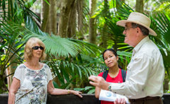 A photo of a guided tour at Gladstone Tondoon Botanic Gardens