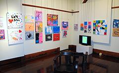 Art works on display