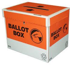 NZ General Election Ballot Box