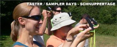 Taster / sampler days - Schnuppertage
