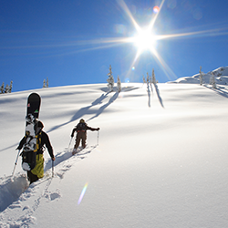 Get insurance coverage while in the backcountry