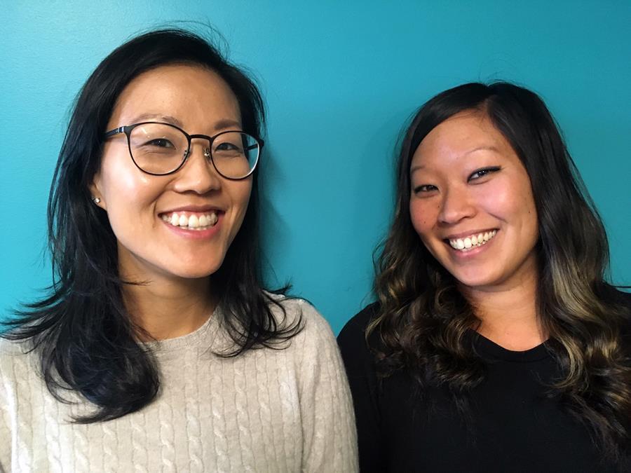 Edith Yang and Samie Iverson