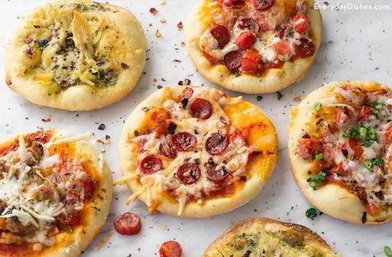 Mini pizza appetizers