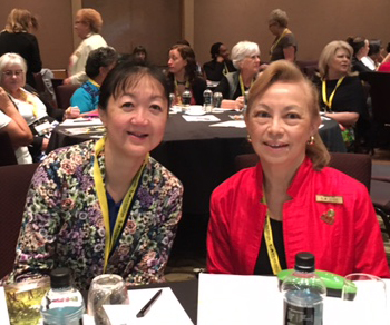 Berlinda Chin and Triena Ong (Singapore)