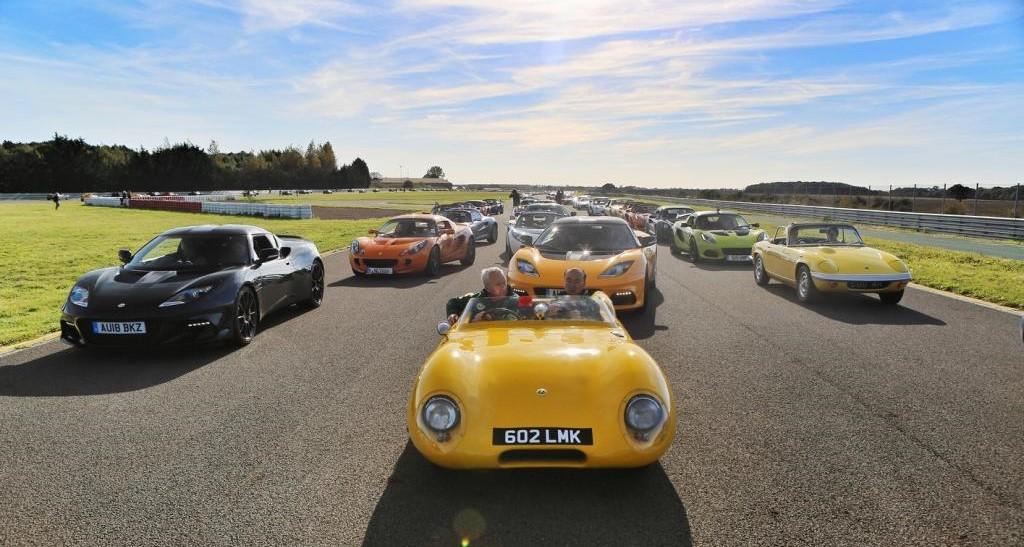 Lotus on track at Hethel