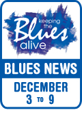 Keeping The Blues Alive brings you Blues News. Week of December 3rd to 9th