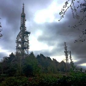 Image of telecoms mast