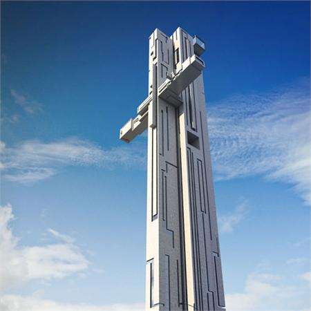 Cross-shaped skyscraper planned for Liverpool