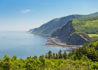 Route 132 en Gaspésie
