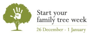 Start your family tree week logo