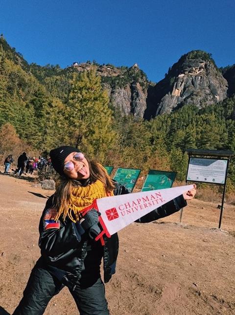Shannon in Bhutan
