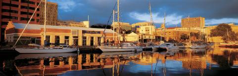 Boats in Hobart