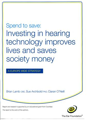 Front cover of the Spend to Save report