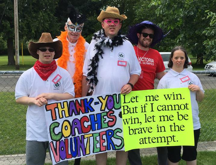 Grateful for volunteers