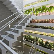 Stacking Green  by Vo Trong Nghia Architects