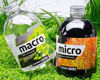 Green Aqua Micro Macro új csomagolásban!