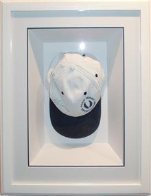 framed memorabilia - Andy Murray cap