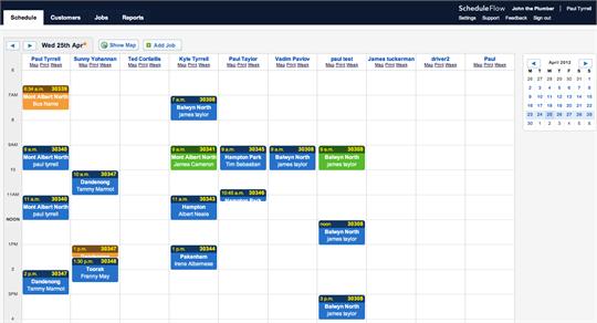 Stretchy calendar