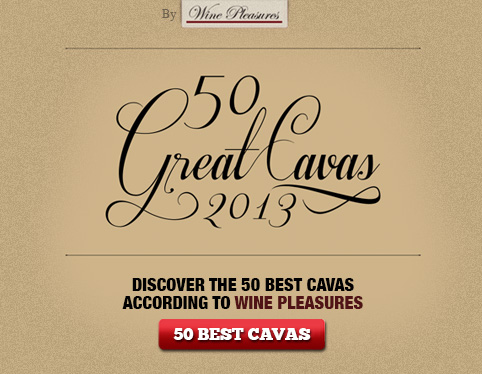 50 best cavas according to Wine Pleasures