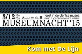 3 december Museumnacht Gent
