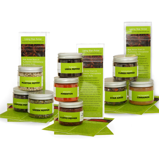 Single Note Spices Collections Set