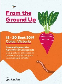 From the ground up event poster.