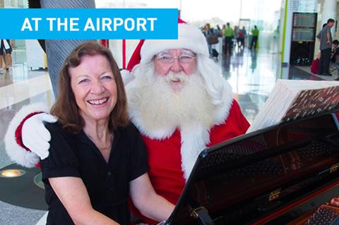 Christmas at Canberra Airport