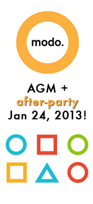 AGM and after-party, january 24, 2013