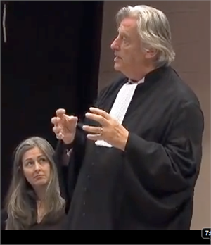 Michael Mansfield QC and Polly Higgins