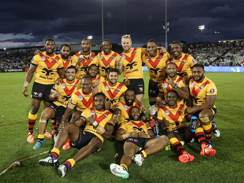 2019 Downer Rugby League World Cup 9s - PNG