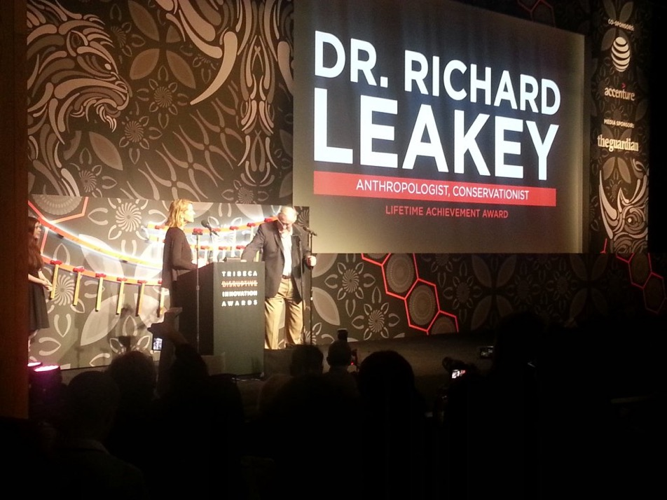 Richard Leakey at Tribeca