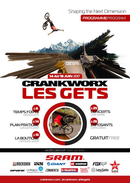 Programme Officiel Crankworx Les Gets 2017