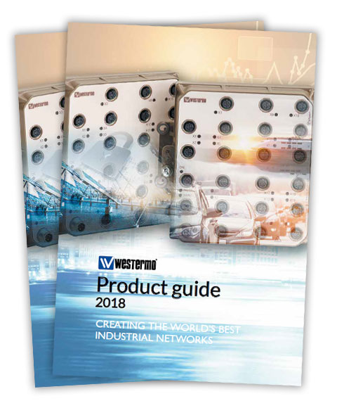 Westermo 2018 product guide.