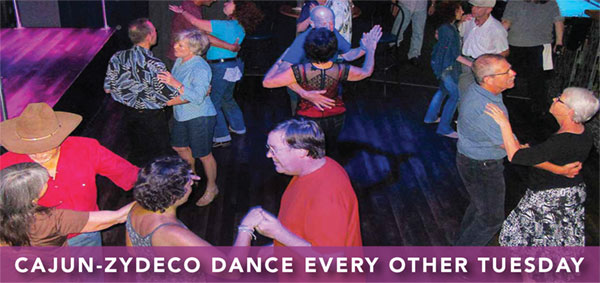 Cajun-Zydeco Dance every first and third Tuesday in St. Petersburg