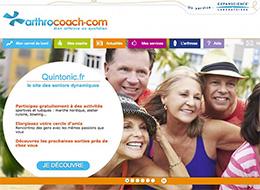 Arthrocoach.com s'associe à Quintonic