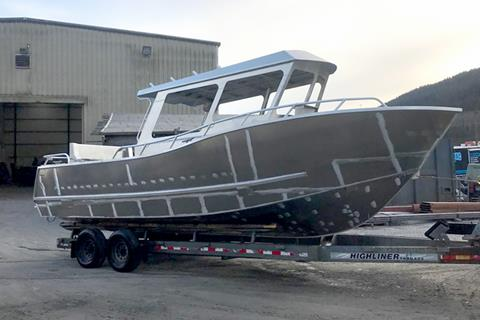 The new QCL 80-Series Boat from Bridgeview Marine