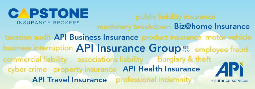 API Insurance Group and Capstone banner
