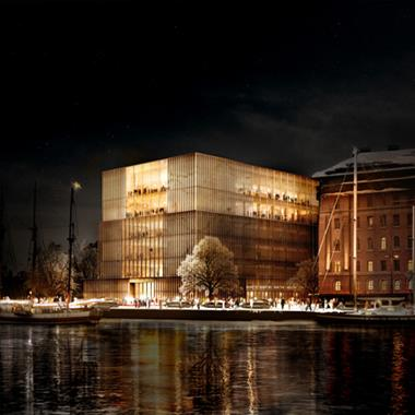 David Chipperfield triumphs in Nobel Center competition.