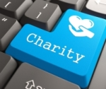 Charity keyboard button