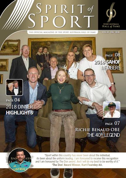 December SAHOF Magazine