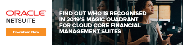 NetSuite magic quadrant